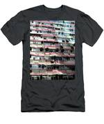 Hong Kong Apartment 18 Men's T-Shirt (Athletic Fit)