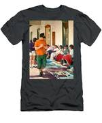 Indian Market Men's T-Shirt (Athletic Fit)