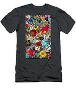 Jeweled Garden Men's T-Shirt (Athletic Fit)