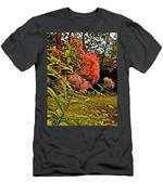 Joe-pye-weed Near Schroon River In New York Men's T-Shirt (Athletic Fit)