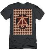 Karuna Reiki Healing Symbol Art By Navinjoshi At Fineartamerica.com Buy Posters Greetings Pillows Du Men's T-Shirt (Athletic Fit)
