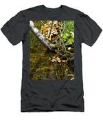 Layered Reflections Men's T-Shirt (Athletic Fit)