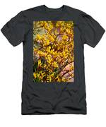 Little Yellow Flowers Men's T-Shirt (Athletic Fit)