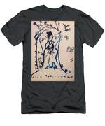 Love Is Waiting With Bells On Men's T-Shirt (Athletic Fit)