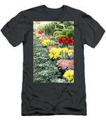 Lovely Flowers In Manito Park Conservatory Men's T-Shirt (Athletic Fit)