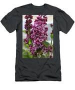Lovely Lilacs Men's T-Shirt (Athletic Fit)