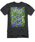 Lush Grape Hyacinth Men's T-Shirt (Athletic Fit)