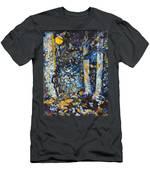 Man In Moonshadow Men's T-Shirt (Athletic Fit)