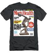 Men' Health Now And Then Men's T-Shirt (Athletic Fit)