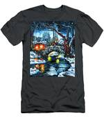 Midnight Stroll On The Gapstow Men's T-Shirt (Athletic Fit)