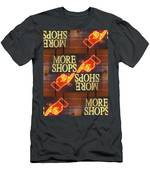 More Shops Men's T-Shirt (Athletic Fit)