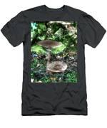 Mushrooms Hdr Men's T-Shirt (Athletic Fit)