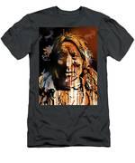 Oglala Warrior Men's T-Shirt (Athletic Fit)
