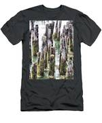 Old Dock Remains Men's T-Shirt (Athletic Fit)