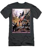p-troiani074 Don Troiani Men's T-Shirt (Athletic Fit)