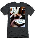 Pattern Book Men's T-Shirt (Athletic Fit)