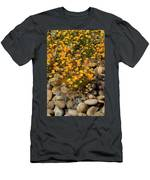Poppies On The Rocks Men's T-Shirt (Athletic Fit)