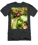 Purple Trillium Men's T-Shirt (Athletic Fit)