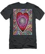 Radiate Love And... Men's T-Shirt (Athletic Fit)