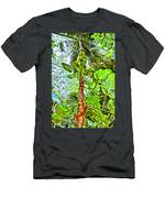 Rainforest Green Men's T-Shirt (Athletic Fit)
