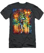 Rainy Dance Men's T-Shirt (Athletic Fit)