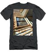 Reflecting Angles Men's T-Shirt (Athletic Fit)