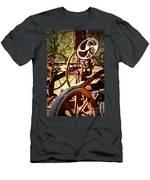 Retired Wheels Men's T-Shirt (Athletic Fit)