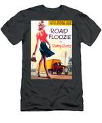 Retro 1950s Book Cover Floozie Bimbo Old School Nympho Men's T-Shirt (Athletic Fit)