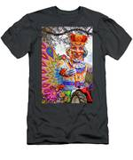 Rex Rides In New Orleans Men's T-Shirt (Athletic Fit)