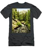 Running River Men's T-Shirt (Athletic Fit)