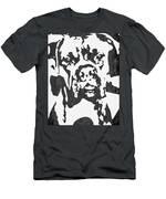 Slate Grey Boxer Men's T-Shirt (Athletic Fit)