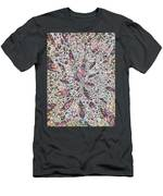 Stars Give Birth To Color Men's T-Shirt (Athletic Fit)