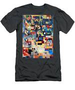 The Form Of The Mishcan Is The Form Of The Creation Of The World Men's T-Shirt (Athletic Fit)