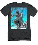 The Thinker Men's T-Shirt (Athletic Fit)