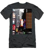 Times Square Men's T-Shirt (Athletic Fit)