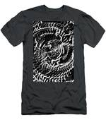 Twisted Gears Abstract Men's T-Shirt (Athletic Fit)