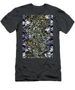 Unspoken Words  Men's T-Shirt (Athletic Fit)