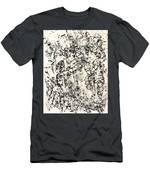 Untitled Black Men's T-Shirt (Athletic Fit)