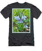 Virginia Bluebells - Mertensia Virginica Men's T-Shirt (Athletic Fit)