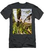 White Trout Lily Men's T-Shirt (Athletic Fit)
