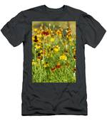Wildflowers Four Men's T-Shirt (Athletic Fit)