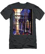 Winter Afternoon At The Cloisters 4 Men's T-Shirt (Athletic Fit)