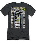 Wood Grain Men's T-Shirt (Athletic Fit)