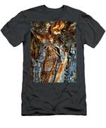 Wood Wrinkles Men's T-Shirt (Athletic Fit)