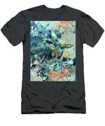 World In The Sea Men's T-Shirt (Athletic Fit)