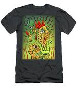 Ancient Spirit Men's T-Shirt (Athletic Fit) by Sotuland Art