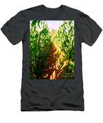 The Corn Maze #2 Men's T-Shirt (Athletic Fit)