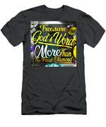 Treasure God's Word Men's T-Shirt (Athletic Fit) by Passion Give