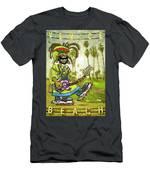 Venice Beach Rasta Roller Men's T-Shirt (Athletic Fit)