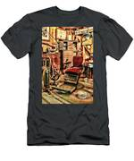 Vintage Dentist Office And Drill Men's T-Shirt (Athletic Fit)